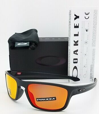 NEW Oakley Sliver Stealth sunglasses Prizm Ruby Polarized AUTHENTIC 9408-06 (Stealth Sunglasses)