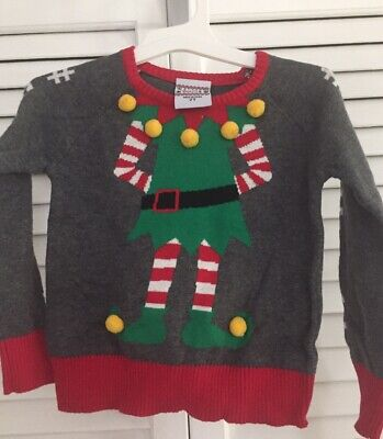 Girls Christmas Sweater, Size 2T. NWT