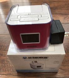 iPod Venturer Dual Alarm Clock Radio Dock With Adapter - Audiovox