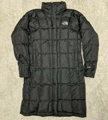 The North Face Coat 600 Women's Small Black Trench Puffer