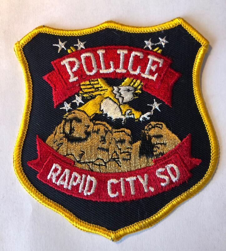 Rapid City South Dakota Police Patch ~ New Condition