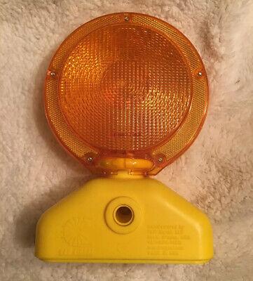 Heavy Duty Led 6v Traffic Construction Safety Barricade Light Amber 503.09x