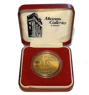1936 Bermuda Edward VIII Proof Pattern Crown coin Cased
