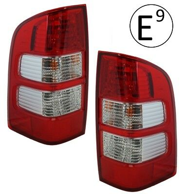 Rear Lights pair for Ford Ranger pickup tail lamp O/S N/S 2006-09 + Bulbs & Loom