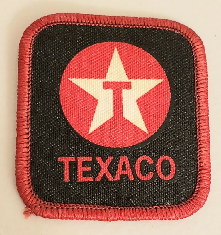 Texaco Embroidered Edge, Iron-On Patch