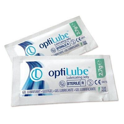 Jelly Sachets (5g OPTILUBE Sterile Lubricating Jelly Gel Sachets UK SELLER (KY Alternative))