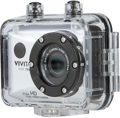 Vivitar - Action Camera with Remote - Silver (DVR789HD-SIL)
