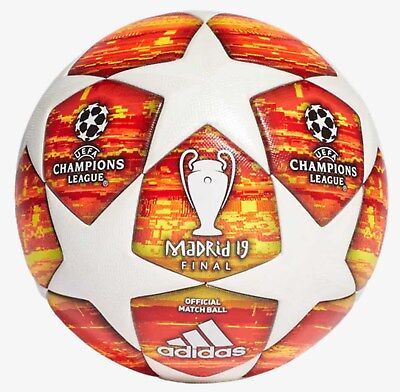c390753cba Adidas Finale Madrid Official UEFA Champions League Match Ball authentic  100%