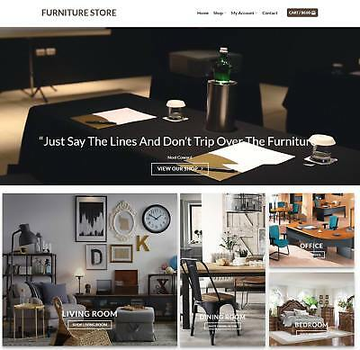 Furniture Store Website For Sale - Earn 793 A Sale. Instant Trafficfree Domain