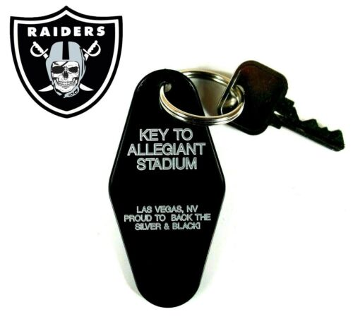 """KEY TO ALLEGIANT STADIUM"" novelty LAS VEGAS RAIDERS KEY TAG Oakland, Nevada"