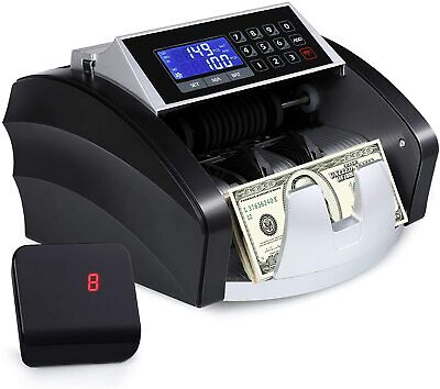 Money Counter Currency Cash Bill Counting Machine Uv Mg Counterfeit Detection Us