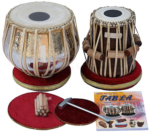 % OFF SAI Musicals Tabla Drum Set, Concert Quality, 4 Kg Chromed Copper Bayan