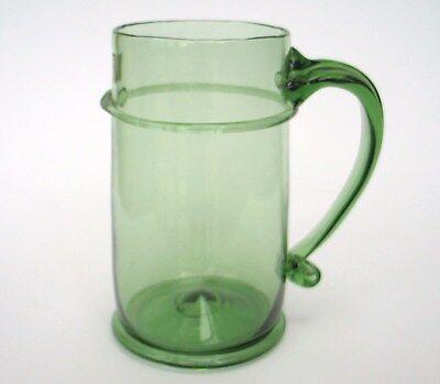 Henkelglas Böhmen   schöne Handarbeit