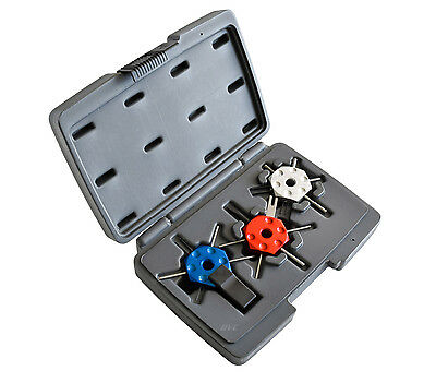 4 PC Wire Terminal Tools Set - LISLE 57750 Terminal Remover Kit with Plastic Box