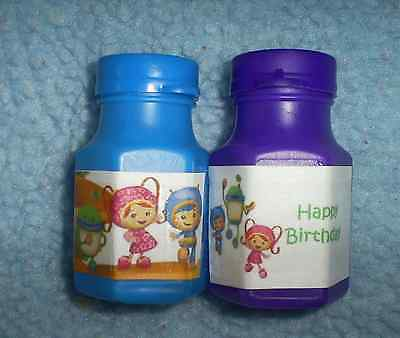 Team Umizoomi Birthday Party Favors Pack Of 12 Bubbles