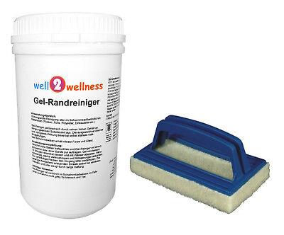 GEL-Randreiniger / Gelreiniger / Poolreiniger / Schwimmbadreiniger 1,0 kg + Pad