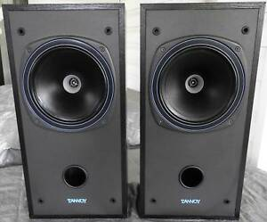 TANNOY DC-1000 VINTAGE BOOKSHELF SPEAKERS HI FI AUDIOPHILE 80s
