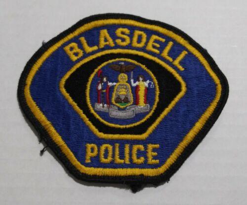 Vintage Blasdell New York Police Shoulder Patch