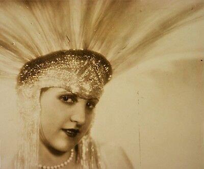 Manasse Atelier Foto Olga & Adorjan von Wlassics Art Deco Vintage Portrait Photo
