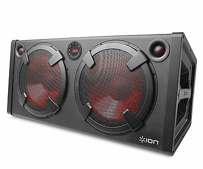 ION IPA27 Road Warrior Bluetooth 500W Portable Rechargeable Stereo Speaker
