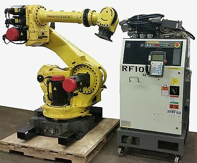 Fanuc Robot S-430iw With Rj3 Controller - Tested Clean Low Hours- Complete