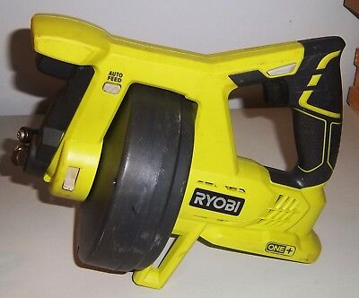 Ryobi P4001 18-Volt ONE+ Drain Auger Pipe Snake (Tool Only)