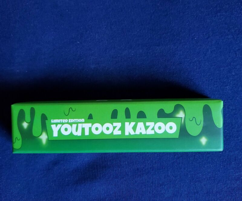 *NEW* Limited Edition Slimecicle Youtooz Kazoo *Unopened*