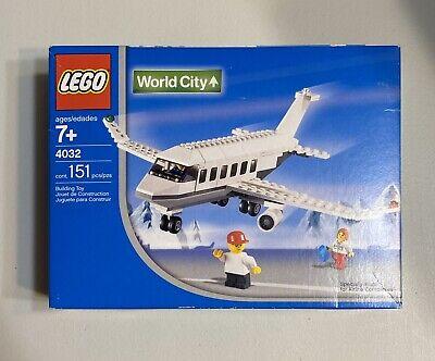 LEGO AIR 4032 Town World City Airport Passenger Plane Iberia Version Rare