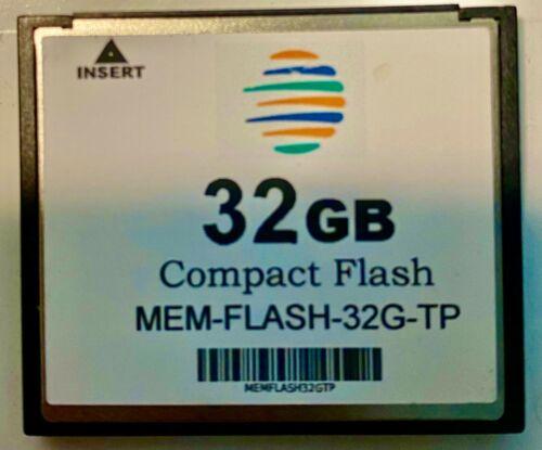 MEM-FLASH-32G 32G Compact Flash Memory 3rd Party Spare Upgrade Cisco ISR 4450