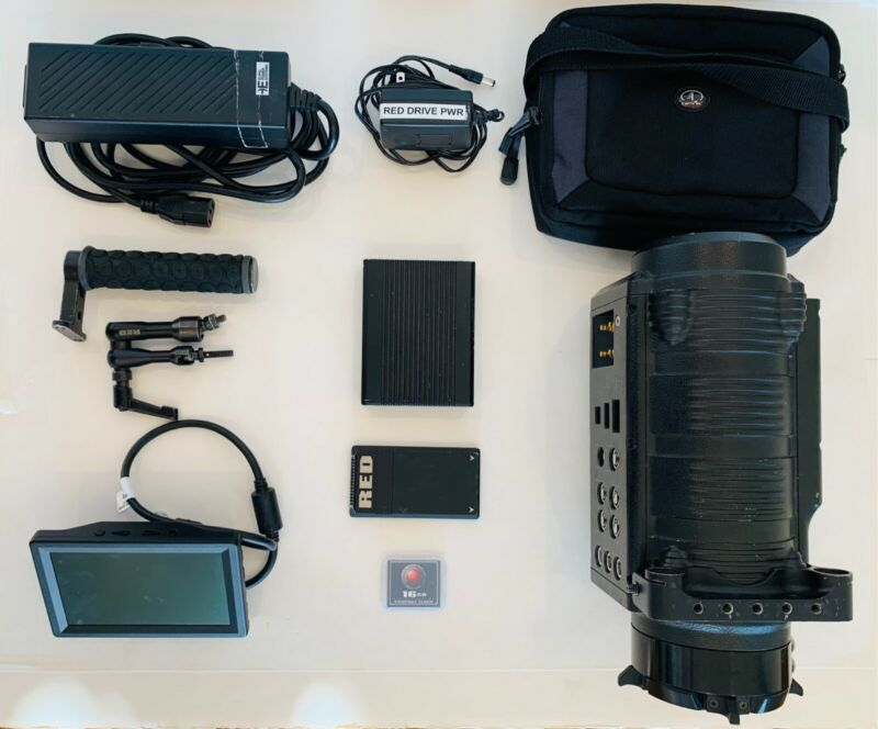 READY TO SHOOT Red One MX Package LOW hours (1302) w/ SSD & bonus items!!!