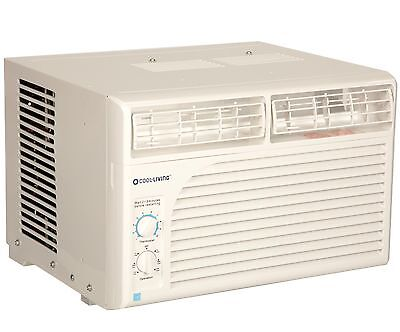 Cool Living 5 000 Btu 9 7 Eer 115V Window Mount Room Air Conditioner Ac Unit