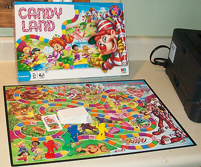 vintage 2005 CANDYLAND Board Game COMPLETE Very Nice candy land