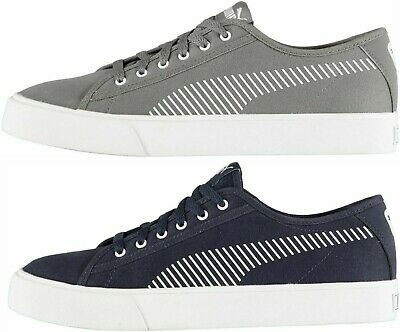 Puma Mens Trainers Bari Canvas Casual Fashion Classic Tennis 1st Class Post