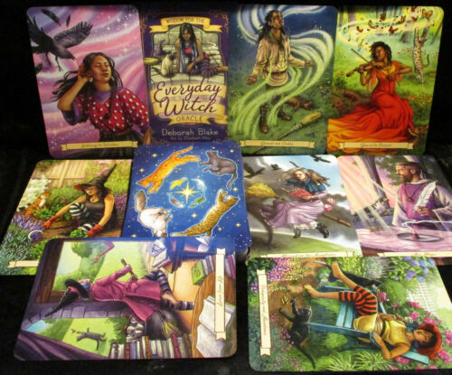 SEALED NEW ~ EVERYDAY WITCH ORACLE CARDS & BOOK FOR ANSWERS & INSPIRATION