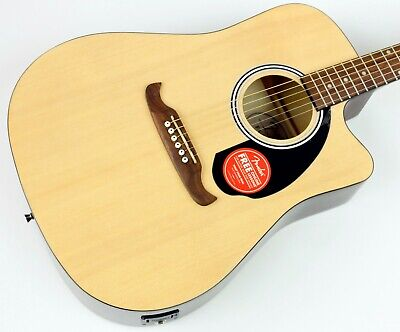 Fender FA-125CE Dreadnought Acoustic-Electric Guitar, New #CFFL1903536