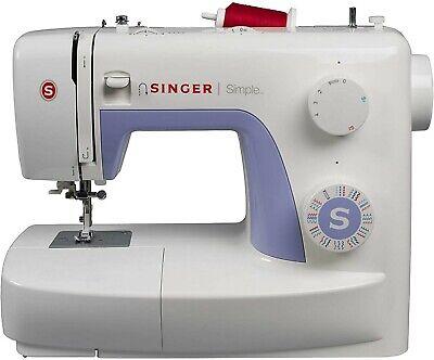Singer Simple 3232 - Máquina de coser mecánica, 32 puntadas, 120 V,...