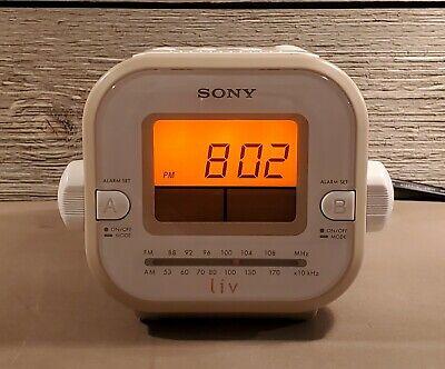 Sony Dream Machine ICF-C180 Liv Dual Alarm Clock Radio