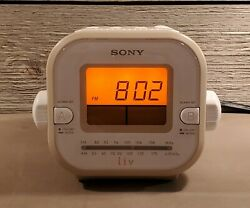Sony Dream Machine ICF-C180 Liv Dual Alarm Clock Radio