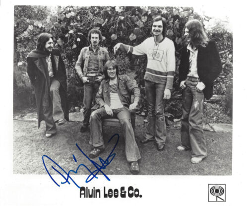 ALVIN LEE & Co. signed TEN YEARS AFTER  Promotional Photograph
