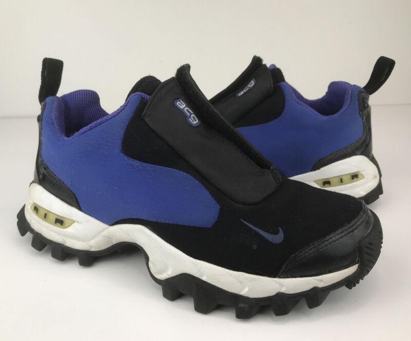 Nike ACG Air Wailuku All Trac Trail Hiking Shoes Purple/Black Womens Size 7~Read
