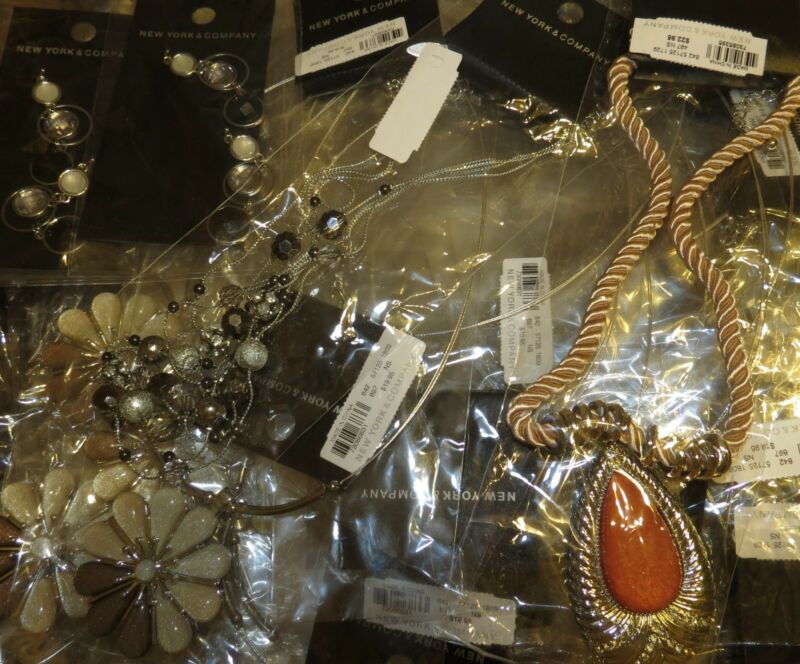 Closeout mixed jewelry lots by the pound inventory reduction sale out huge value