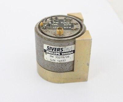Sivers Ima Yig Oscillator Type Pm7027x28 8-18 Ghz