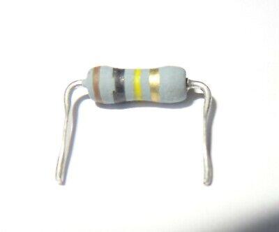 2 Pcs 100k Ohm 1w Metal Oxide Resistor. Preformed Leads