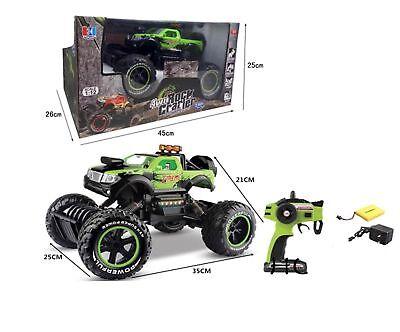 RC Rock Crarler  4WD-1:12   25 km/h  Ferngesteuertes Rennauto  / grün