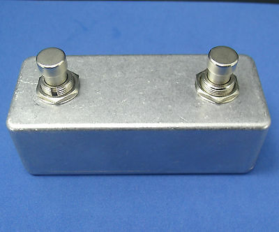 2 Button Amp Footswitch Pedal for Reissue Fender '65 Deluxe Reverb Marshall P802