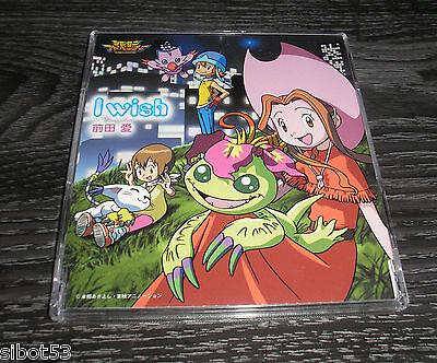 Digimon CD  I Wish Japan Japanisch Lieder Songs Soundtrack