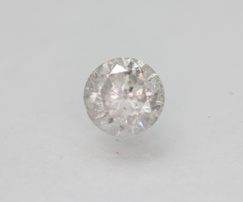 Certified 1.35 Carat G Color Round Brilliant Natural Loose Diamond 6.87mm 3VG