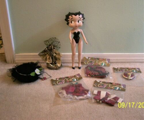 "Vintage 1995 Vandor Betty  Boop 12""  Porcelain Doll WITH CLOTHES MINT MUST SEE"