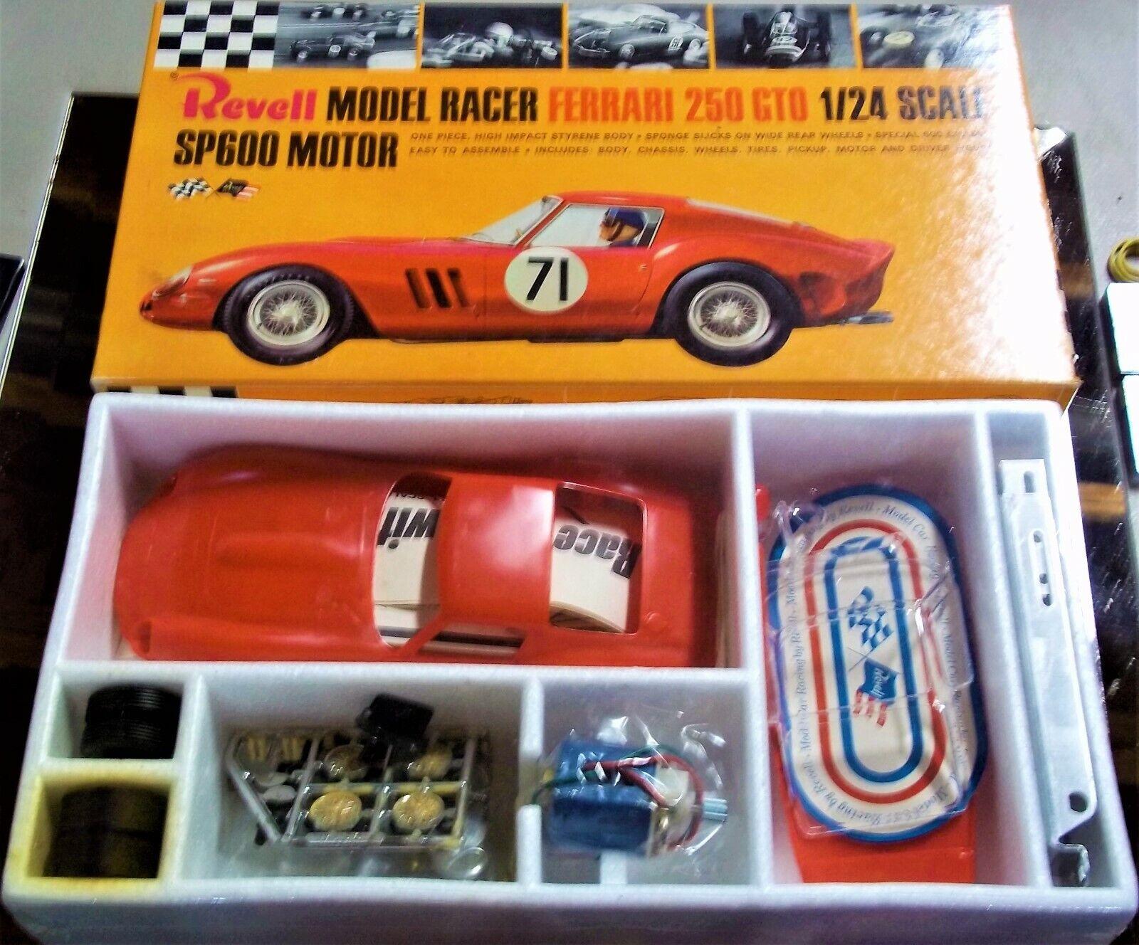REVELL VINTAGE 1/24 1/25 MINT FERRARI 250 GTO SLOT CAR CHASS