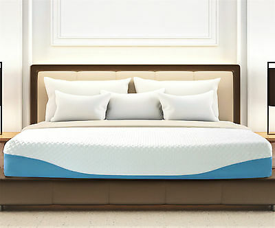 Konnor 10 Inch Gel Infused  Ergonomic 7 Zone Airflow Firm Memory Foam Mattress